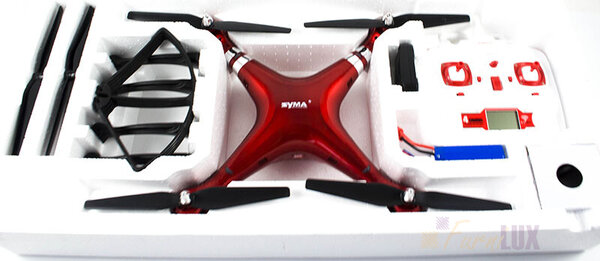 Dron RC Syma X8HG 2,4GHz Kamera 5MP
