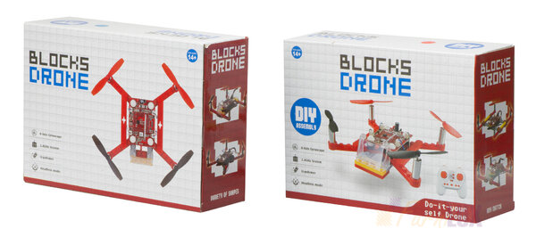 Dron RC z klocków Blocks Drone DIY